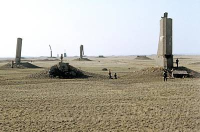 Semipalatinsk Nuclear Test Site Print by Ria Novosti