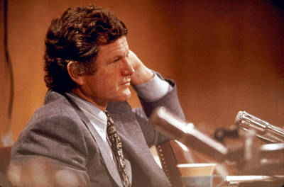 Senator Edward Kennedy D-ma Original by Jan Faul