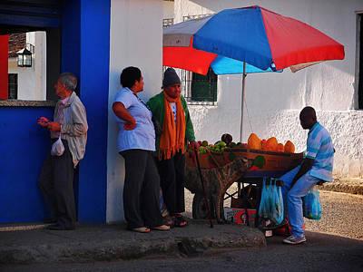 Senor Papaya Print by Skip Hunt