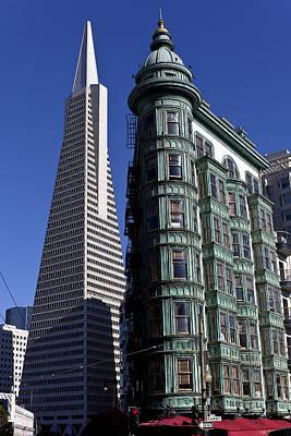 Sentinel Building San Francisco Print by Garry Gay