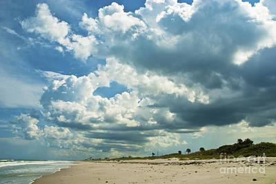 September Beach 3 Print by Susanne Van Hulst