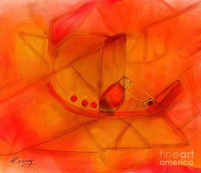 Digital Art - Sequestered by D Perry