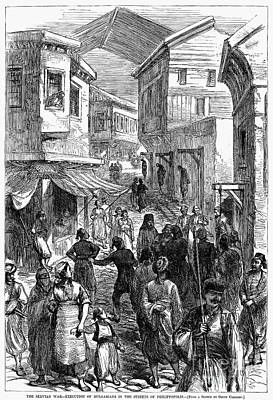 Serbo-turkish War, 1876 Print by Granger