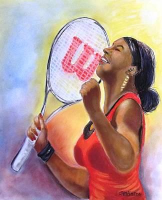 Serena Shines Print by Carol Allen Anfinsen