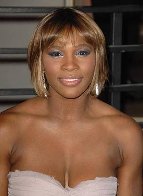 Serena Williams Photograph - Serena Williams At Arrivals For Vanity by Everett