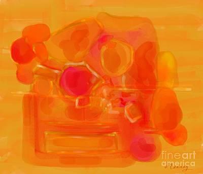 Digital Art - Serenade by D Perry