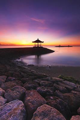 Serene Dawn Print by Pandu Adnyana
