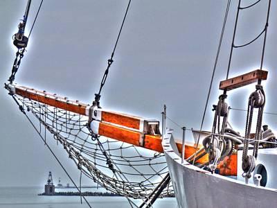 Digital Art - Setting Sail by Barry R Jones Jr