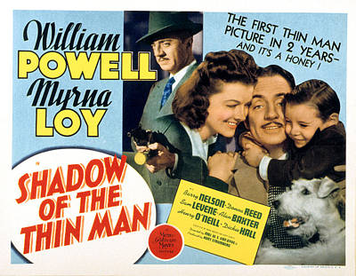Shadow Of The Thin Man, William Powell Print by Everett