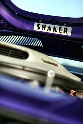 Challenger Photograph - Shaker Hood by Gordon Dean II