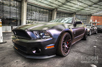 Aria Photograph - Shelby Gt500kr by Yhun Suarez