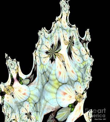 Shell Art 1 Print by Maria Urso