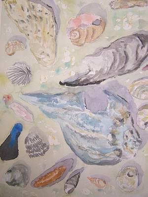 Shells Print by James Cox