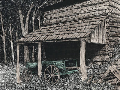Shelter Print by Mike OBrien