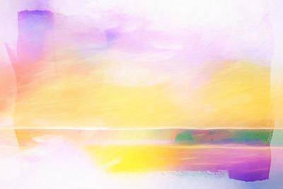 Shining Vision Print by Lutz Baar