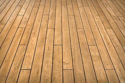 Ship Deck Print by Brandon Bourdages