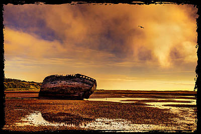 Old Photograph - Shipwreck by Mal Bray