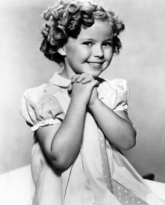 Colbw Photograph - Shirley Temple, 1936 by Everett