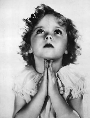 Ev-in Photograph - Shirley Temple, Ca. Early-mid 1930s by Everett