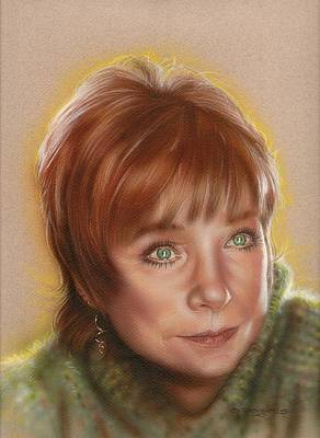 Shirley Painting - Shirley by Tim  Scoggins