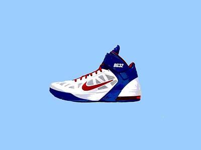 Basketball Digital Art - Shoe  by Chandler  Douglas