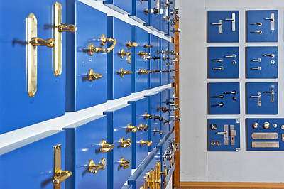 Showroom With Various Brass Print by Corepics
