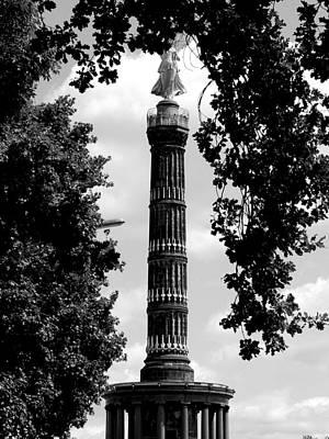 Berlin Photograph - Siegessaeule by Bianca Baker