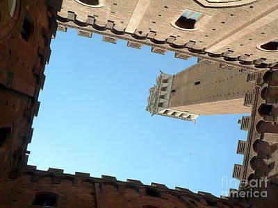 Sienna Tower Original by Elizabeth Fontaine-Barr