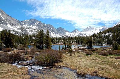 Crowley Lake Photograph - Sierra Lakes by Kirk Williams
