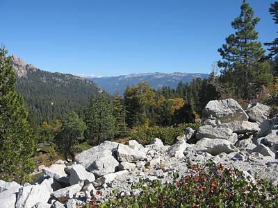 Sierra Nevada Photograph - Sierra Nevada Mountains 1 by Naxart Studio