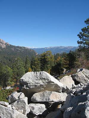 Sierra Nevada Photograph - Sierra Nevada Mountains 4 by Naxart Studio