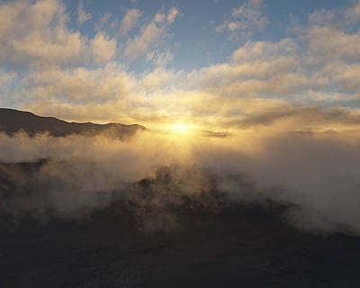 Sierra Sunrise Print by Mark Greenberg