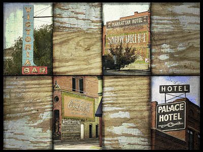 Signs Of Salida Print by Ann Powell