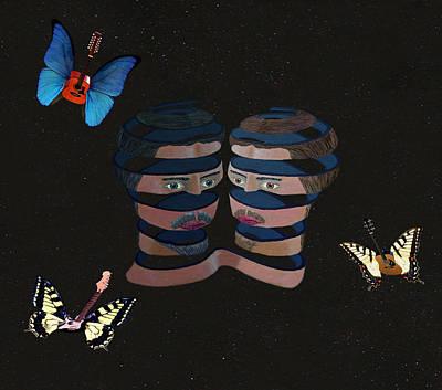 Acrylic On Canvas Digital Art - Silent Song by Eric Kempson