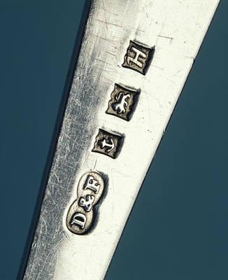 Hallmark Photograph - Silver Hallmark by Sheila Terry