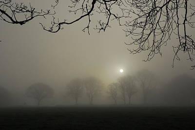 Magical Photograph - Silver Sunrise by Rachel Burch