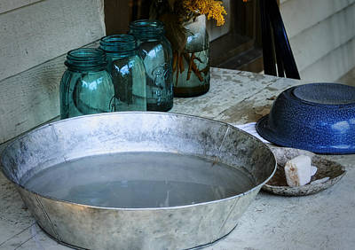 Water Jars Photograph - Simple Life 2 by Julie Palencia