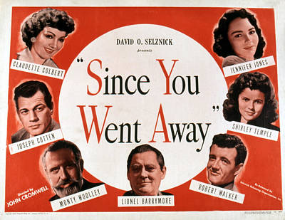 1944 Movies Photograph - Since You Went Away, Clockwise From L-r by Everett