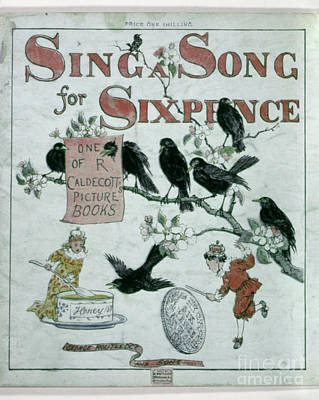 Sing A Song Of Sixpence Print by Granger