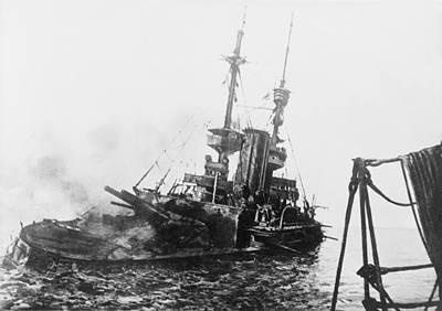 Sinking Of British Ship - Irresistible Print by International  Images