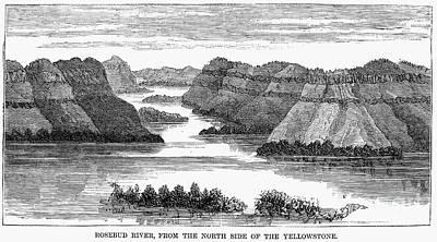 Sioux: Rosebud River Print by Granger
