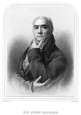 Self-portrait Photograph - Sir Henry Raeburn by Granger