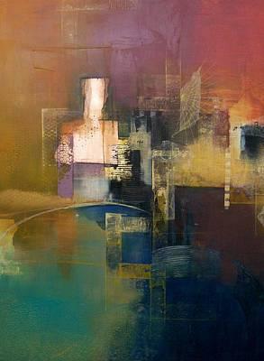 Ruins Mixed Media - Siren Song by Asha Menghrajani