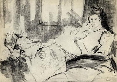 Sisters Print by Ethel Vrana