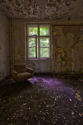 Haunted House Photograph - Sitting Alone by Nathan Wright