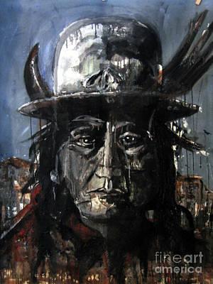 Sitting Bull Original by Christine Chzasz