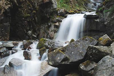 Skagway Waterfall 8619 Print by Michael Peychich