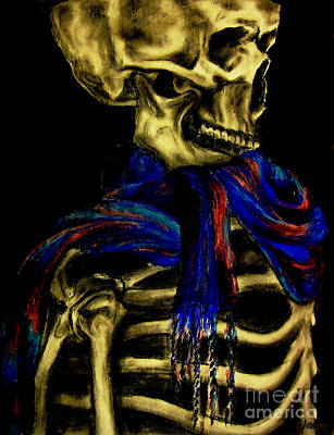 Skeleton Fashion Victim Print by Tylir Wisdom