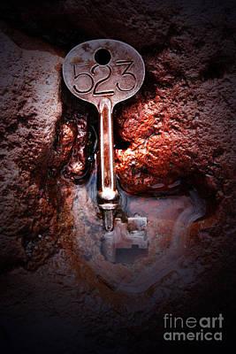Skeleton Key No 523 Print by C E Dyer