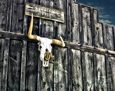 Pioneertown Photograph - Skull by Danuta Bennett